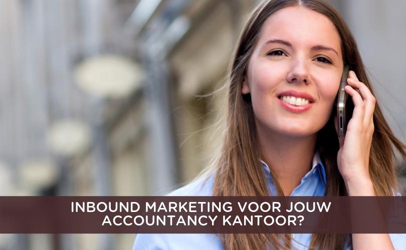 Inbound Marketing accountancy kantoor